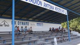 vstup na futbalový stadion