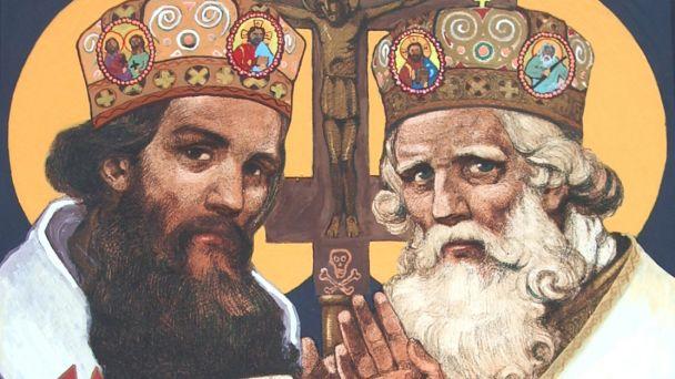 5. júl - sviatok sv. Cyrila a Metoda