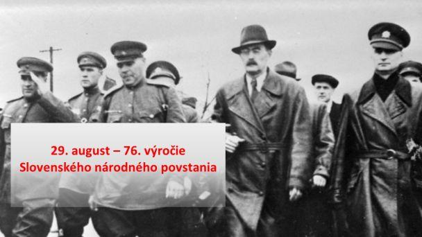 Slovenské národné povstanie - 76. výročie