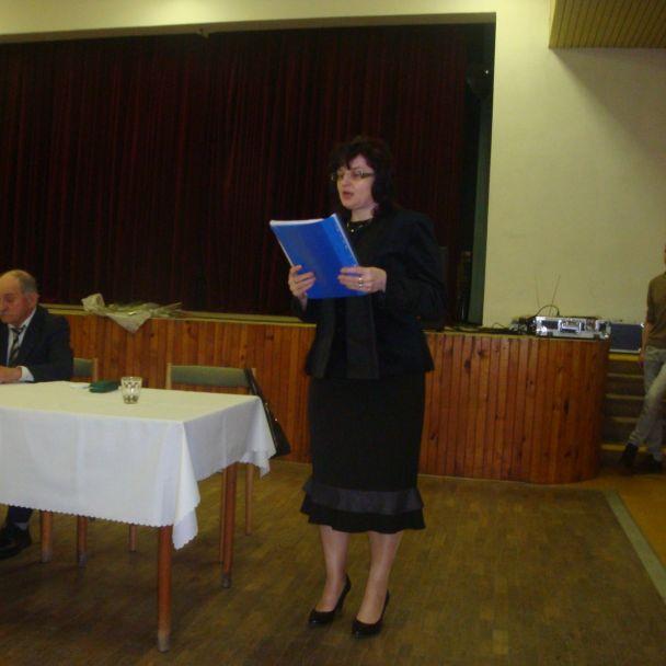 Členská schôdza Základnej organizácie Csemadok