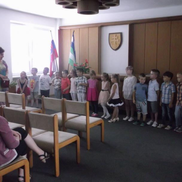 Rozlúčka detí 3. triedy MŠ