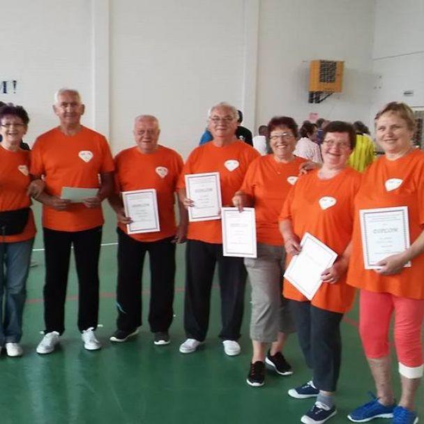 Okresné športové hry v Močenku