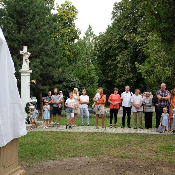 Sv. Ján Nepomucký - posvätenie sochy