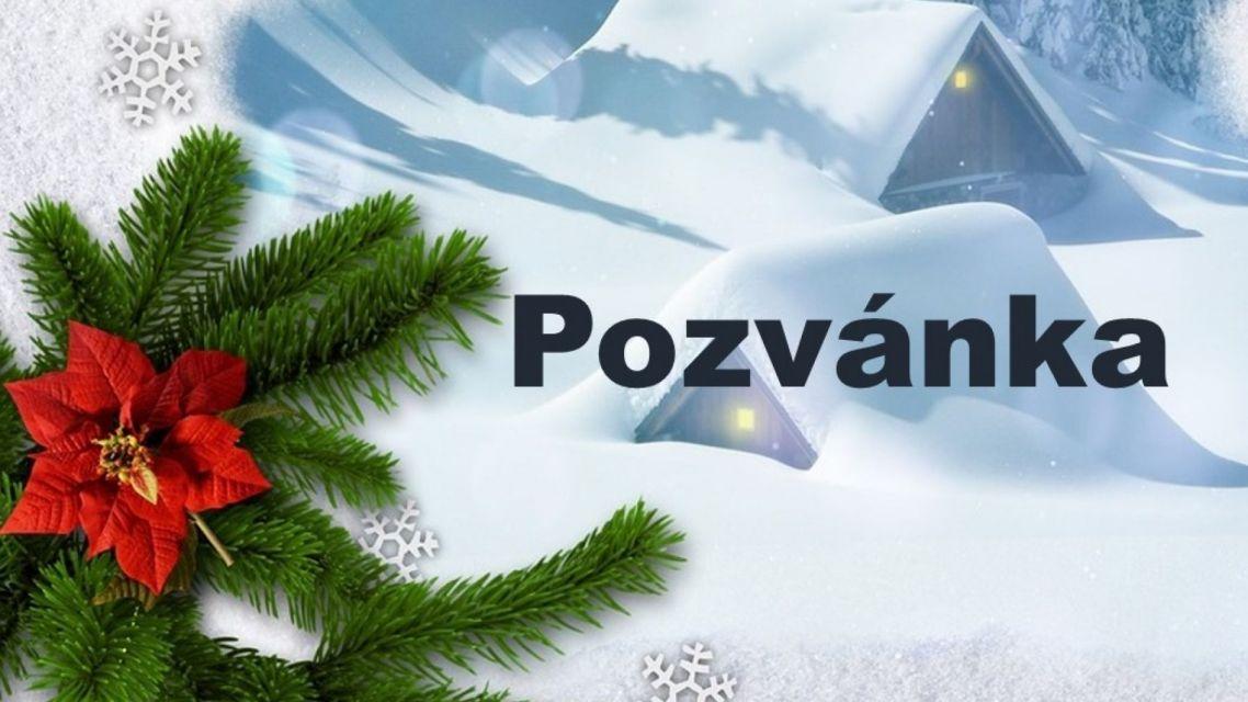 Pozvánka na vianočné trhy