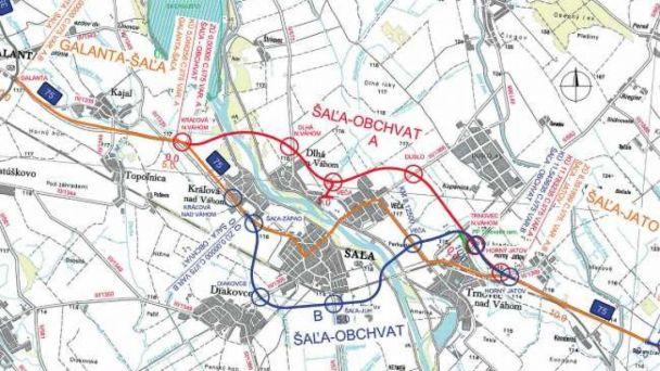 Cesta I/75 Šaľa - rozhodnutie