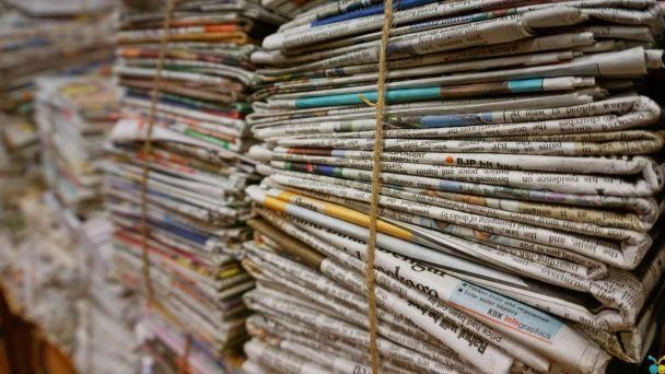Zber papiera z domácností